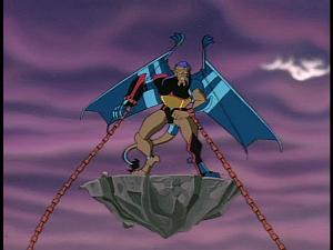 Disney Gargoyles - Legion - hybrid giant caught by virus