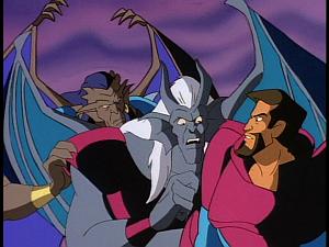 Disney Gargoyles - Legion - iago othello coldstone and xanatos program