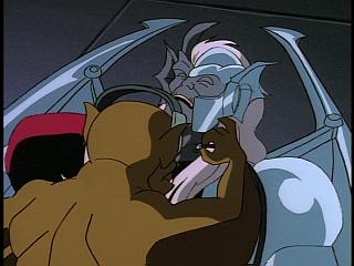 Disney Gargoyles - Legion - lex plugs in recap to coldstone