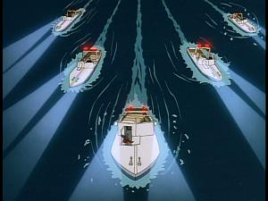 Disney Gargoyles - Legion - police boat fleet