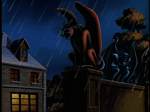 Disney Gargoyles - Lighthouse in the Sea of Time - hudson on wall