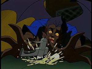 Disney Gargoyles - Metamorphosis - derek misses antidote, it crashes