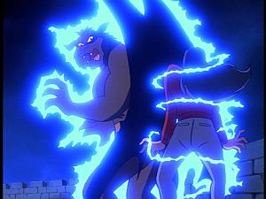 Disney Gargoyles - Metamorphosis - derek talon electrocutes elisa