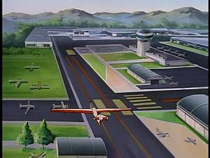 Disney Gargoyles - Metamorphosis - glider airport