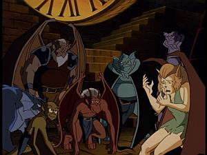 Disney Gargoyles - Metamorphosis - maggie and clan