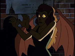 Disney Gargoyles - Metamorphosis - maggie scared of gargoyles