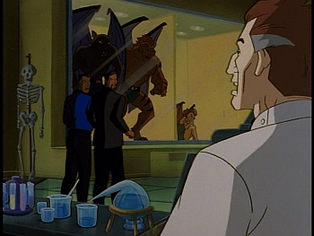 Disney Gargoyles - Metamorphosis - mutates in cages xanatos derek sevarius