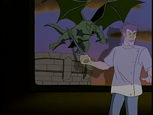 Disney Gargoyles - Metamorphosis - sevarius movie film gargoyles
