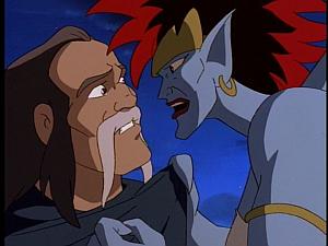 Disney Gargoyles - City of Stone part 1 - demona and captain