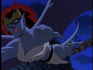 Disney Gargoyles - City of Stone part 1 - demona flees goliath