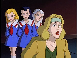 Disney Gargoyles - City of Stone part 1 - margot yale and weird sisters