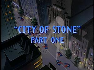 Disney Gargoyles - City of Stone part 1 - title