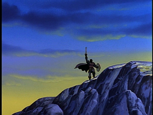 Disney Gargoyles - City of Stone part 2 - hunter on a mountain