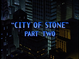 Disney Gargoyles - City of Stone part 2 - title