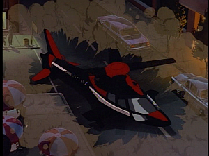 Disney Gargoyles - City of Stone part 2 - xanatos lands chopper