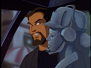 Disney Gargoyles - City of Stone part 2 - xanatos relieved fox not chipped
