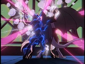Disney Gargoyles - Eye of the Beholder - electricity fox xanatos goliath