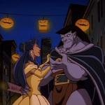 Disney Gargoyles - Eye of the Beholder - elisa and goliath dance halloween belle