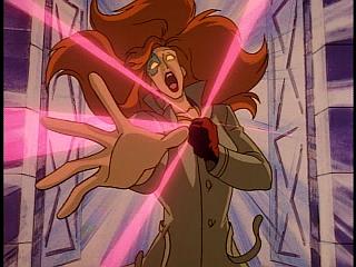 Disney Gargoyles - Eye of the Beholder - fox changing into werewolf