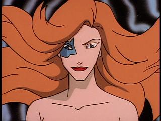 Disney Gargoyles - Eye of the Beholder - fox sees herself in elisa