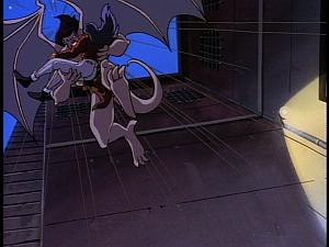 Disney Gargoyles - Eye of the Beholder - goliath attacks