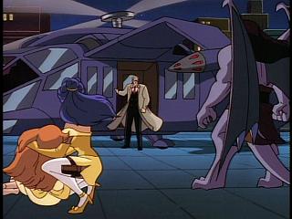 Disney Gargoyles - Eye of the Beholder - owen and chopper