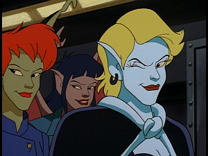 Disney Gargoyles - The Mirror - female human gargoyles