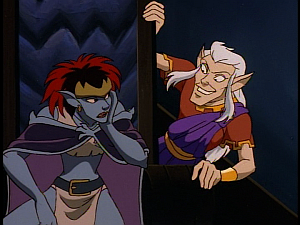 Disney Gargoyles - The Mirror - puck free with demona