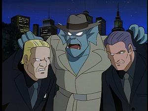 Disney Gargoyles - The Silver Falcon - broadway attacks gangsters