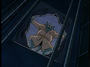 Disney Gargoyles - The Silver Falcon - broadway tears open elevator