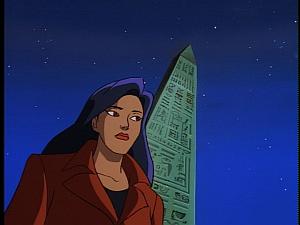 Disney Gargoyles - The Silver Falcon - elisa at cleopatra's needle
