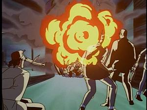 Disney Gargoyles - The Silver Falcon - explosion