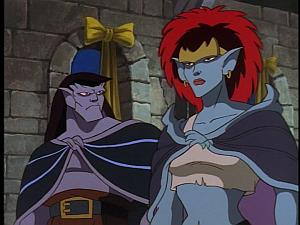 Disney Gargoyles - Vows - demona and goliath at wedding