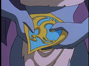 Disney Gargoyles - Vows - demona hold phoenix gate