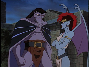Disney Gargoyles - Vows - demona tells goliath not helping