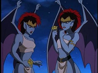 Disney Gargoyles - Vows - demona tells young demona