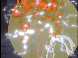 Disney Gargoyles - Vows - gate fireball