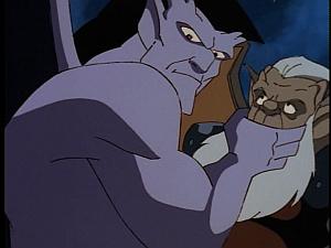 Disney Gargoyles - Vows - goliath shuts up hudson