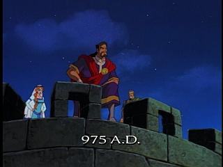 Disney Gargoyles - Vows - house xanatos waits for goliath and gate