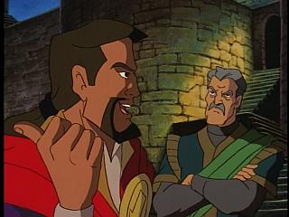 Disney Gargoyles - Vows - xanatos explains to petros his dad