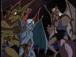 Disney Gargoyles - City of Stone part 1 - demona's clan afraid of her