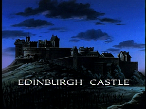 Disney Gargoyles - City of Stone part 1 - edinburgh castle
