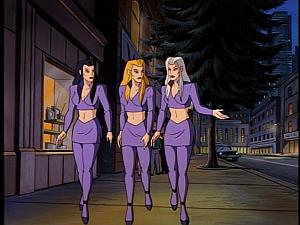 Disney Gargoyles - City of Stone part 1 - hot chick weird sisters