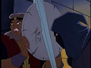 Disney Gargoyles - City of Stone part 1 - hunter vs findlaech