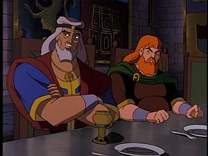 Disney Gargoyles - City of Stone part 1 - lord findlaech and bodhe