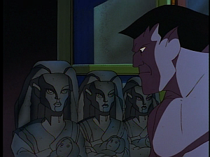 Disney Gargoyles - City of Stone part 2 - goliath and stone girl weird sisters