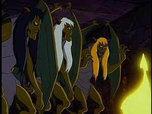 Disney Gargoyles - City of Stone part 2 - hag weird sisters
