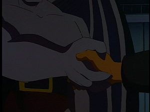 Disney Gargoyles - City of Stone part 2 - xanatos goliath truce handshake