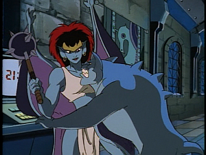 Disney Gargoyles - City of Stone part 3 - bronx pins demona