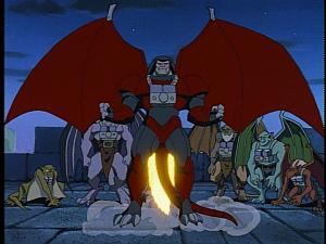 Disney Gargoyles - City of Stone part 3 - clan and xanatos take off